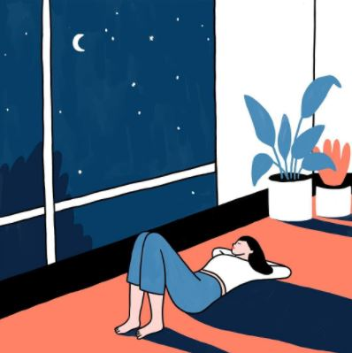 Starry night - Lorraine Sorlet