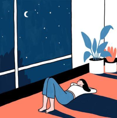 Starry night - Lorraine Sorlet
